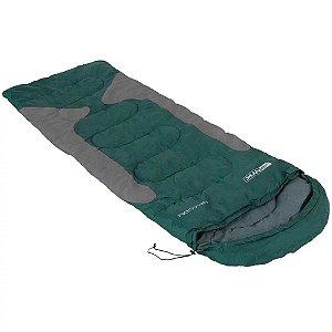 Saco de dormir Nautika Freedom - -1,5°C à -3,5°C - Verde e Cinza