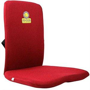 Almofada Assento Ortopédico Com Encosto Anatômico Pró Coluna