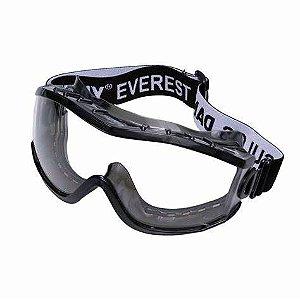 Óculos Proteção Seguranca Ampla Visao Epi Everest Ca19628