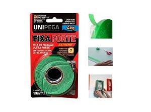 Fita Dupla Face Transparente 19mm X 2m Fixa Forte Ultra