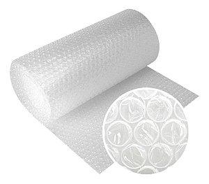Bobina De Plástico Bolha - 65cm X 30 Metros