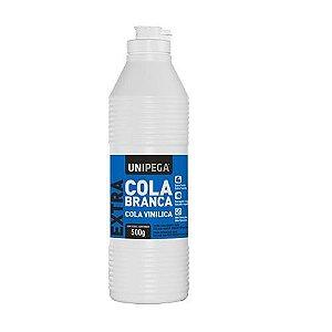 Cola Extra Branca Frasco Unipega 500g