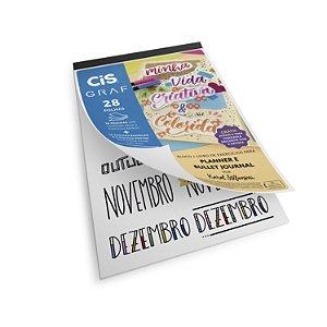 Bloco Livro De Exercício P/ Brush Planner/bullet Journal Cis