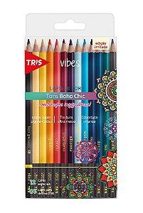 Lápis de Cor Tris Vibes Boho Chic 12 Cores