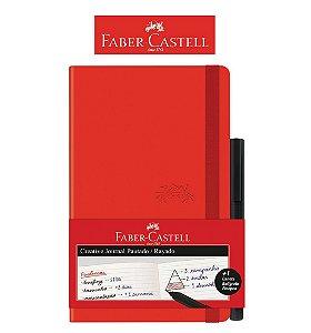 Caderneta Creative Journal Pautado VM 84 fls - Faber Castell