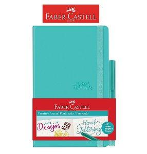 Caderneta Creative Journal Pont. VD 84 fls - Faber Castell