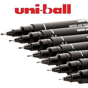 Caneta Tecnica Nanquim Uni Pin Fine Line Uniball Cor Preto