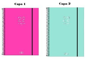 Agenda Planner Neon Espiral M9 Tilibra A Escolha