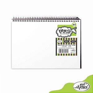 Caderno CD F.V.M Branco c/ Folhas Pretas 40Fls - Merci