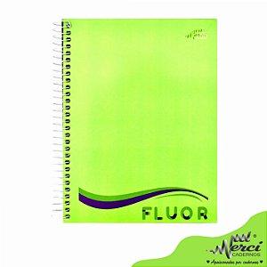 Caderno Esp. Colegial 1 matéria 80 Fls Fluor Merci Capa 04
