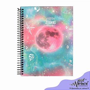 Caderno Esp. Colegial 1 matéria 80 Fls Zodiac Merci Capa 03