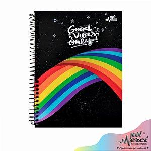Caderno Esp. Colegial 1 matéria 80 Fls Magical Merci Capa 03
