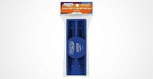 Apagador magnético para quadro branco Azul - Brw