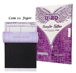 10 Hectograficos (Stencil Tatoo) Magisterio Decalque U20