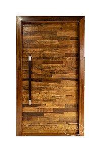 PV52 Porta Maciça Deck de Canela escovada