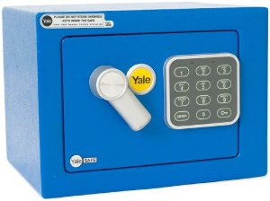 Cofre Yale Value Mini Blue
