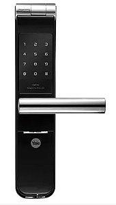 Fechadura Digital YMF 40 abre com Biometria e Senha