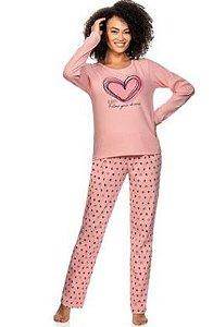 Pijama Zee Rucci Zr3201-013-1544 Calça E Blusa Manga Longa
