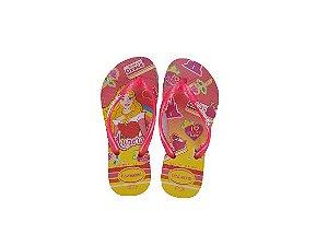 Chinelo Havaianas Slim Kids Princess