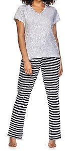 Pijama Zee Rucci Zr3200-004-1543 White& Stripes