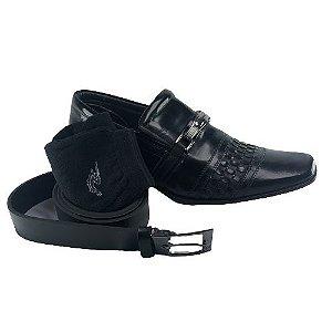 Sapato Social Rafarillo 79238 Couro