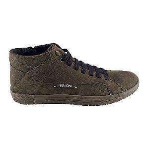 Sapato Ferracini Masculino 1801a Nobuck