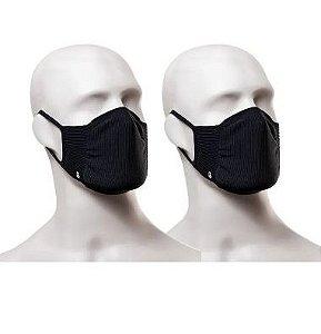 Mascara Lupo Adulto Zero Costura Virus Bac-off Preto