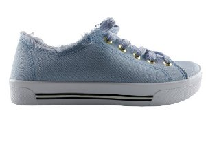 Tenis Casual Moleca 5667.322 Lona Sider Jeans