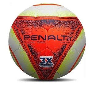 Bola De Futsal Penalty 3 X Mais Durável Infinity 500