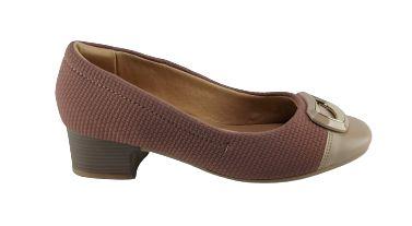 Sapato Comfortflex Napa Vest Plus 20-86303 - Nude