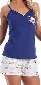 Pijama Paulienne J133 63 Short Doll Com Alça