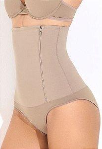 Shape Wear Bonjour 77850 Calcinha Cinta Modeladora Ziper