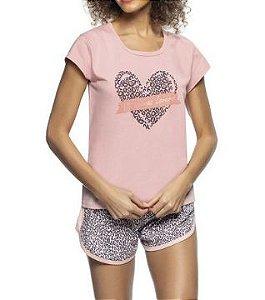 Pijama Zee Rucci 3203-010-1468n Short Doll Animal Print