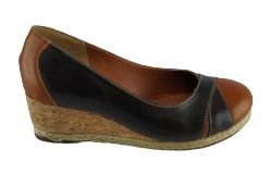 Sapato Anabela Percurso 918  - Wisk C/ Brown