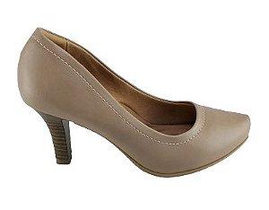 Sapato Scarpin Comfortflex 20-85301 Cores - Nude/preto