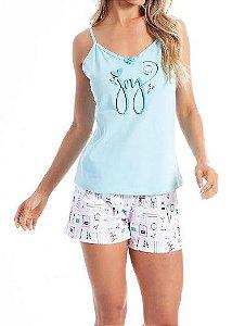 Pijama Paulienne J.133.63 Short Doll Alca Regulavel Algodao