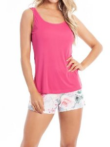 Pijama Paulienne C.069.63.s Short Doll Regata Cavada