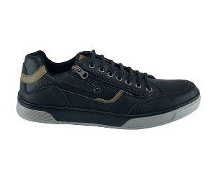 Sapatenis Ped Shoes Masculino Et703-0376 - Preto