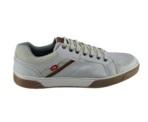 Sapatenis Ped Shoes Masculino Et700-0378 - Gelo/castanho