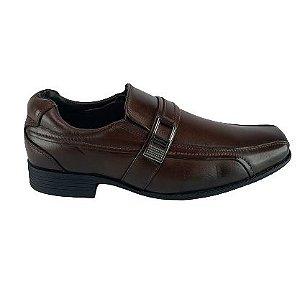 Sapato Social Masculino Zapattero 8298 - Dk Brown