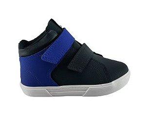 Tenis Infantil Molekinho 2136.137 - Preto/azul