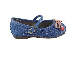 Sapatilha Infantil Baby Molekinha 2106.1015 - Jeans