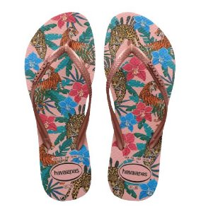 Chinelo Feminino Havaianas Slim Tropical