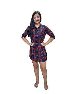 Pijama Hope1240 Camisa Scot Xadrez