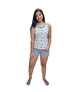 Pijamas Paulienne 138.59.942 Short Doll Regata