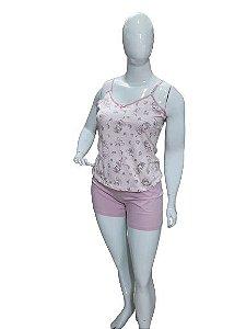 Pijama Paulienne J.s1.140.59 Short Doll Alca Algodao Ballet