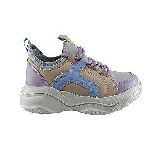 Tenis Kolosh Chunky Sneaker Sola Alta K-soft C2583