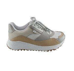 Tenis Casual Dakota Sneaker Cadarço Feminino G3491