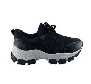 Tenis Casual Feminino Chunky Sneaker Recorte Dakota G3821
