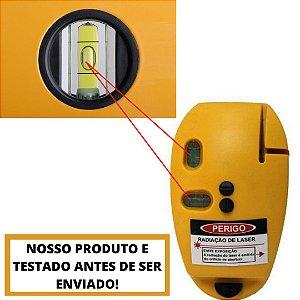 Nível A Laser Com 2 Linhas EDA 9rz Esquadro A Laser De 90 º Noventa Grau Com Nível De Água Para Melhor Ajuste